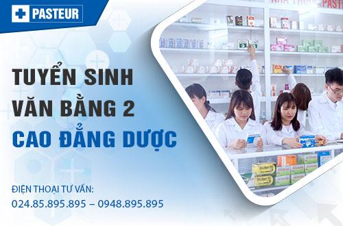 Đối tượng xét tuyển Văn bằng 2 Cao đẳng Dược tại Hà Nội