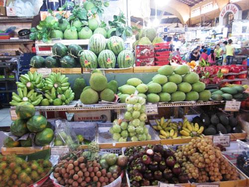 Nhiều loại rau quả Thái Lan chứa chất độc hại vượt mức cho phép