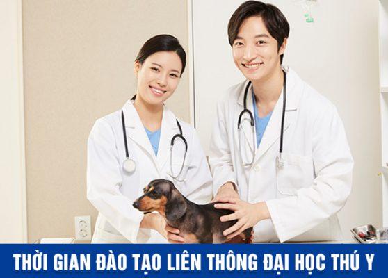 Thời gian Đào tạo Liên thông Đại học Thú y tại Hà Nội và TP Hồ Chí Minh