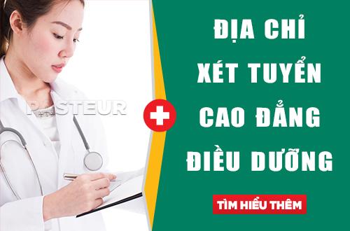 Học Cao đẳng Điều dưỡng ở địa chỉ nào tốt nhất?