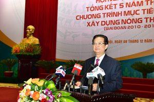 Thủ tướng chỉ đạo hoàn thiện chính sách xây dựng nông thôn mới