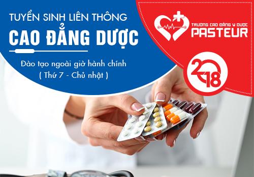 Liên thông Cao đẳng Dược 2018 học Thứ 7 Chủ nhật tại Hà Nội