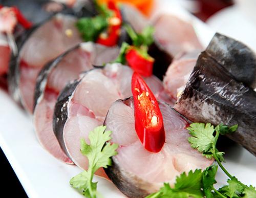 Cá lăng nha có thịt chắc, vị thơm rất được ưa chuộng