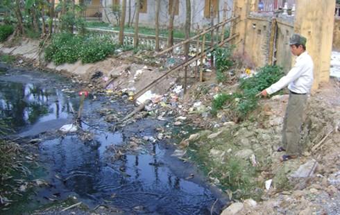 Nông nghiệp phát triển đồng nghĩa với việc môi trường bị ôi nhiễm
