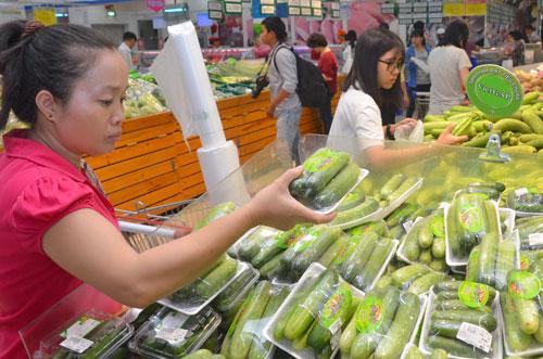 Nông sản organic rất được người tiêu dùng ưa chuộng