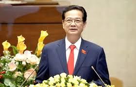 Thủ tướng Nguyễn Tấn Dũng đã tới dự Hội nghị tổng kết năm 2015