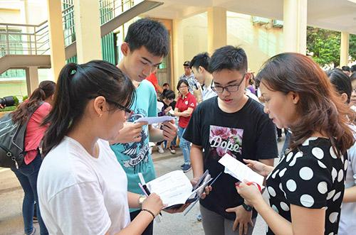 Học viện Nông nghiệp Việt Nam công bố điểm thi THPT Quốc gia 2016