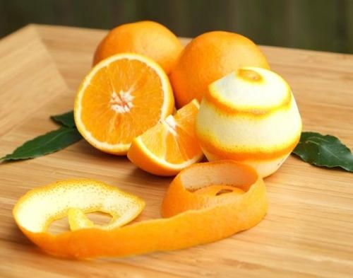 Cách trị mụn bọc bằng vỏ cam