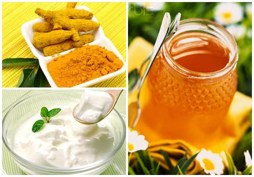 Mặt nạ nghệ sữa tươi, mật ong, và nghệ trị mụn hiệu quả
