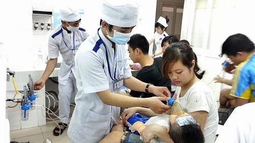 Thực tập tại bệnh viện là điều kiện sinh viên rèn luyện các kỹ năng nghề nghiệp